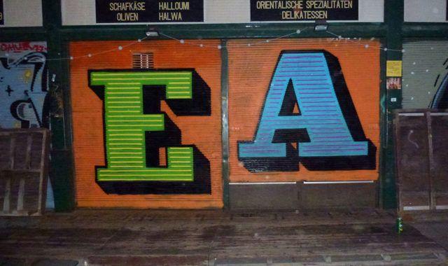 Eine Alphabet Lettering URBAN NATION