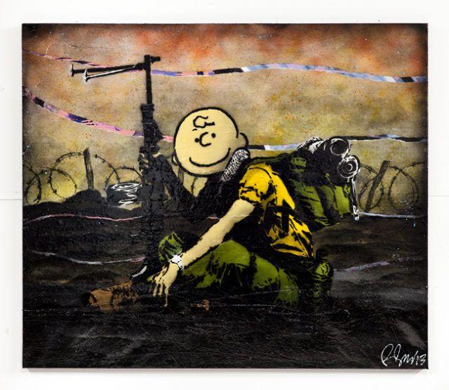 Rene Gagnon Charlie Soldier Stencil