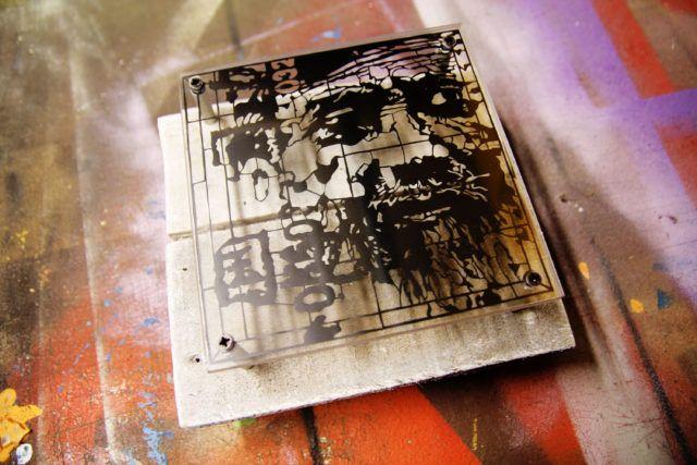Orticanoodles Wally Alita Stencil