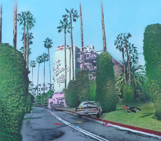 Vandal Beverly Hills Nick Walker URBAN NATION