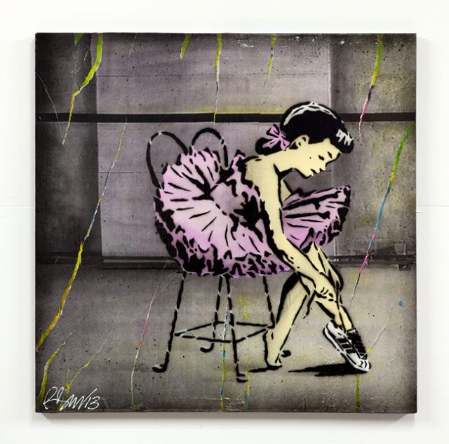 Rene Gagnon My Adidas Ballerina