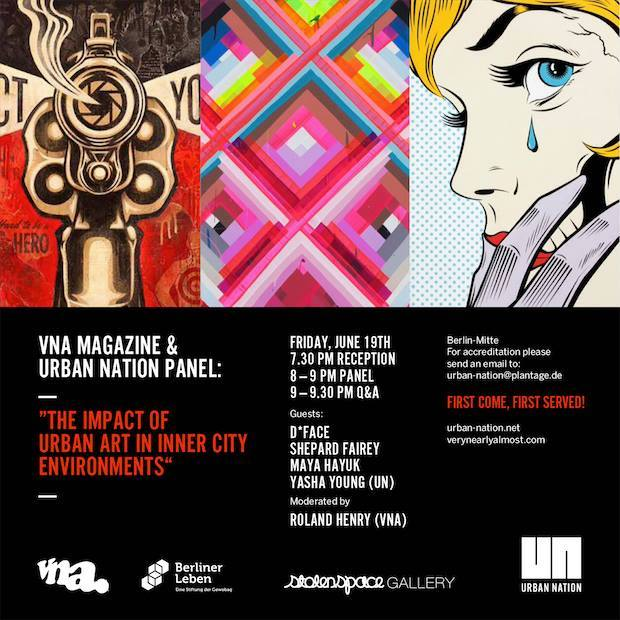 VNA MAGAZINE & URBAN NATION Panel
