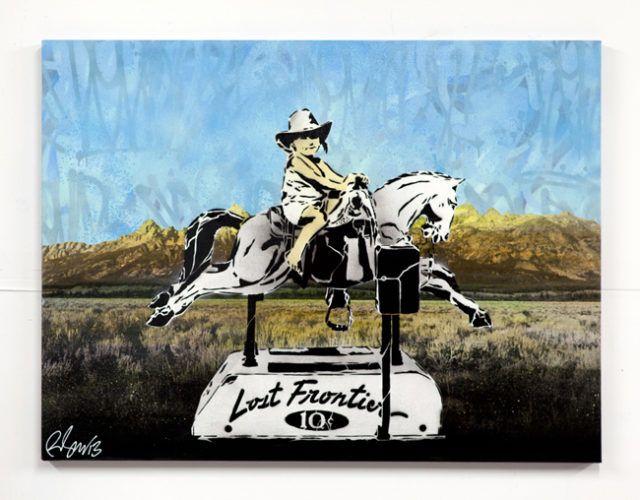 Rene Gagnon Lost Frontier Stencil
