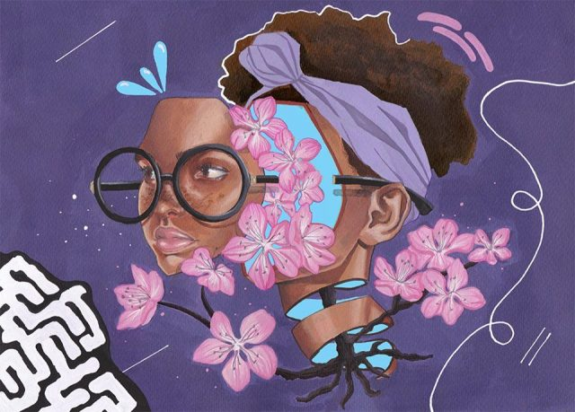 Brittany Williams Painting URBAN NATION
