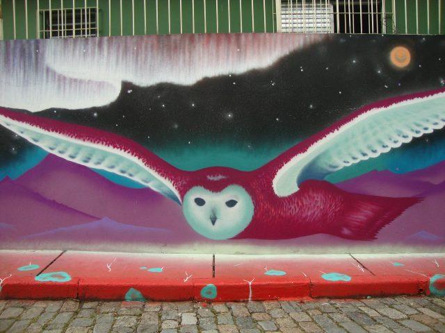 Marina ZUMI Mural Owl