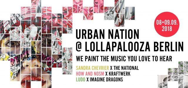 URBAN NATION Lollapalooza Berlin