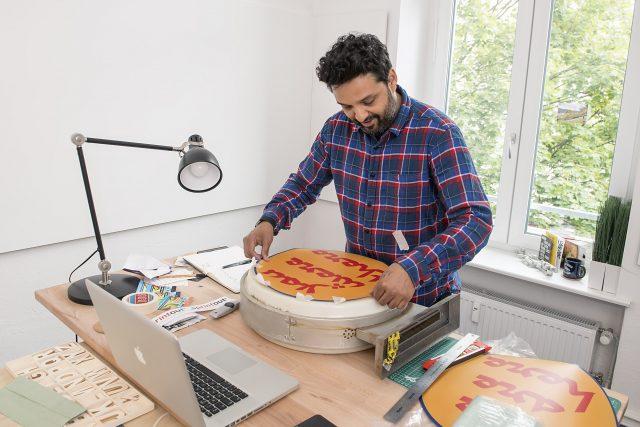 Faisal Hussain Artist in Residence URBAN NATION