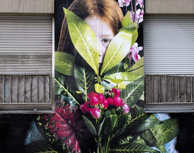 Bifido Mural in Berlin für URBAN NATION
