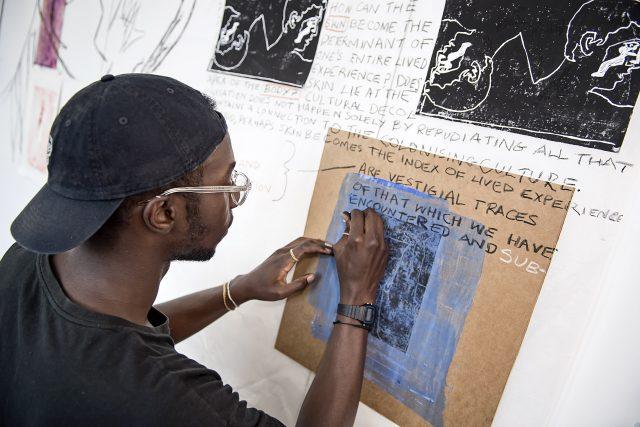 Anietie Ekanem Artist in Residence URBAN NATION Berlin