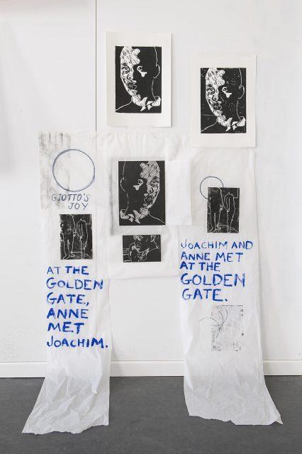 Künstler Anietie Ekanem Installation Berlin