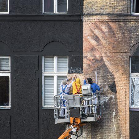 Julien de Casabianca Mural Berlin