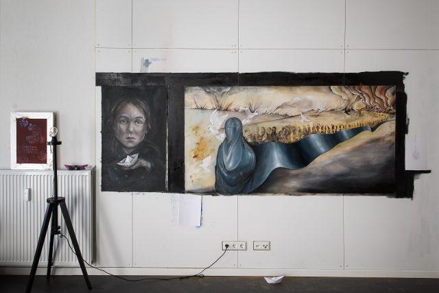 Alexandra Oancea Fresh A.I.R. Artist in Residence