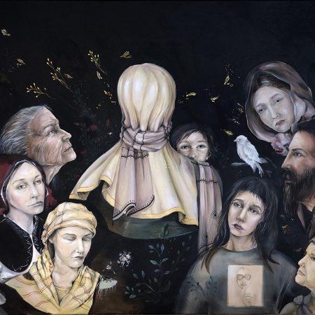 Artist Alexandra Oancea