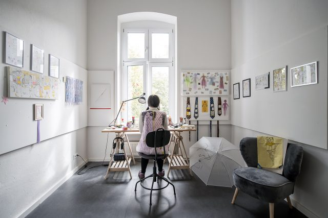 Tania Cellini artist in residence Berlin