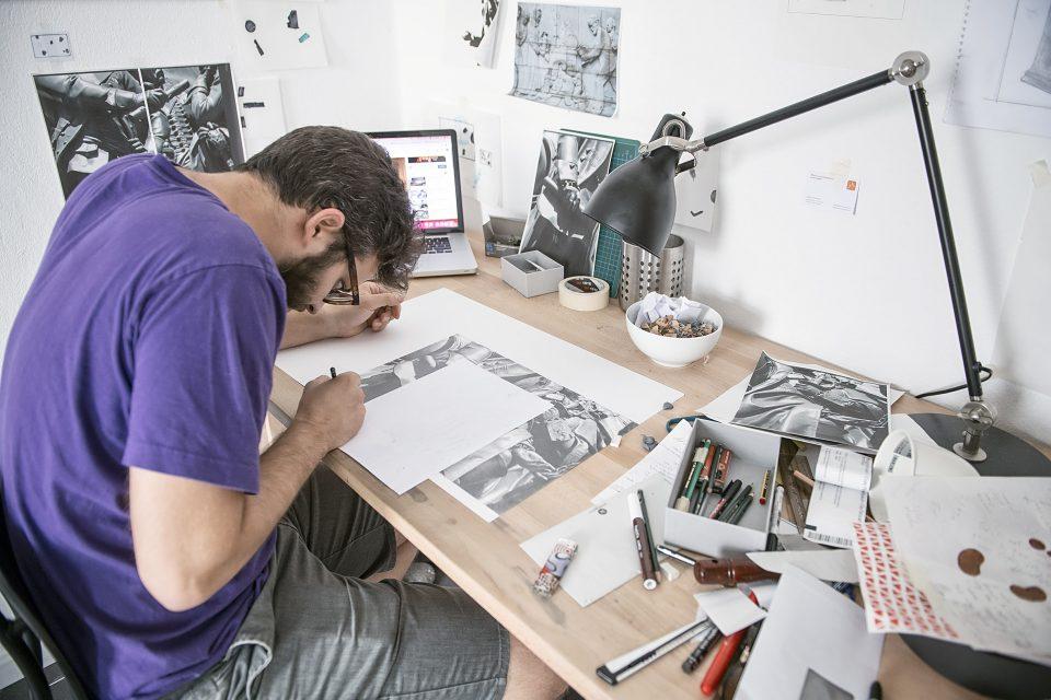 Artist in residence in Berlin