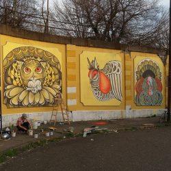 Polina Soloveichik Mural Berlin