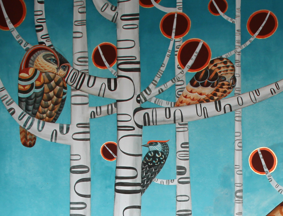 Wandbild von Polina Soloveichik