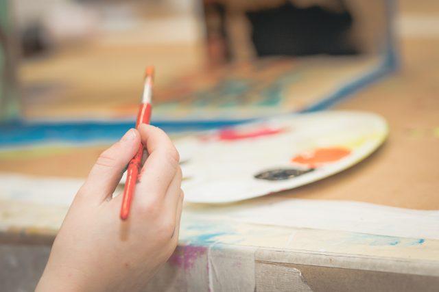 kids painting urban nation