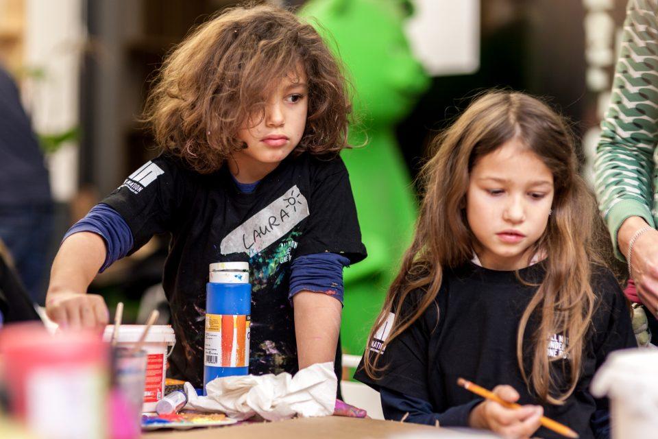 Kids workshop URBAN NATION Berlin