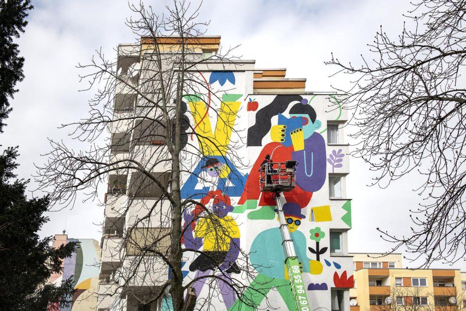 One Wall. Urban Nation Museum. Emily Eldridge. Mural. Urban Art. Street Art. Berlin. Kreuzberg. Wassertorstrasse 63/64.