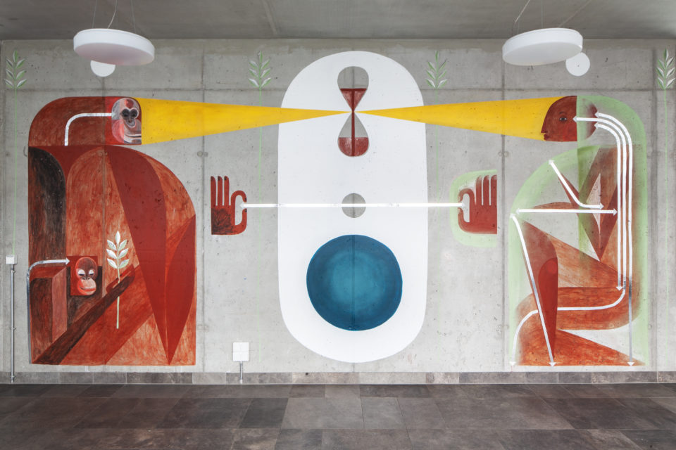 Maja Hürst Mural Berlin