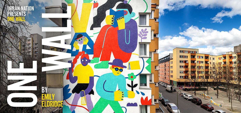 ONE WALL von Emily Eldridge Berlin Kreuzberg