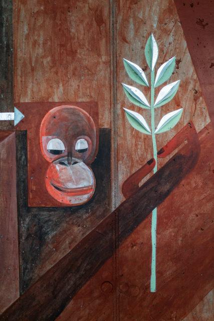 Wandbild. Mural. Maja Hürst. Street Art. Urban Art. URBAN NATION. Urban Nation Museum. Berlin. Gewobag, Jan Sauerwald. Anne Schmedding. Stiftung Berliner Leben.