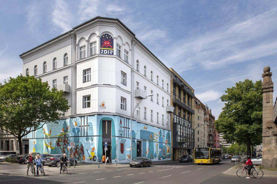 Fassade Urban Nation Museum