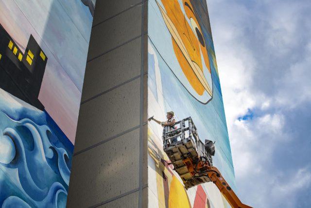Mural Jim Avigon Berlin