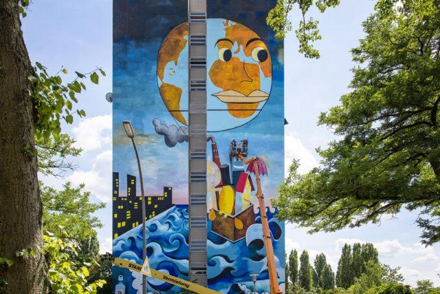 Mural Artpark Tegel Berlin