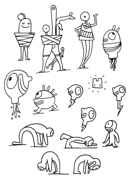 Matt Jones Zeichnung