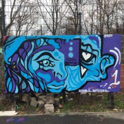 Outdoor Kunstwerk con Humble Writerz
