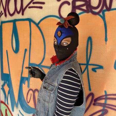 Street Art Künstlerin Mina