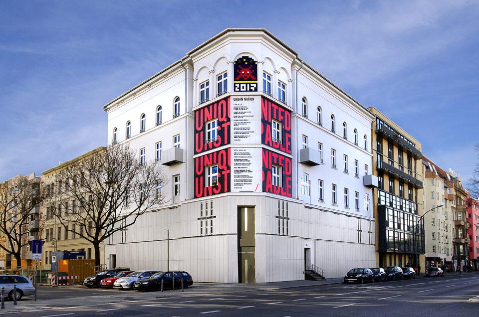 Urban Nation Museum Fassade Eröffnung