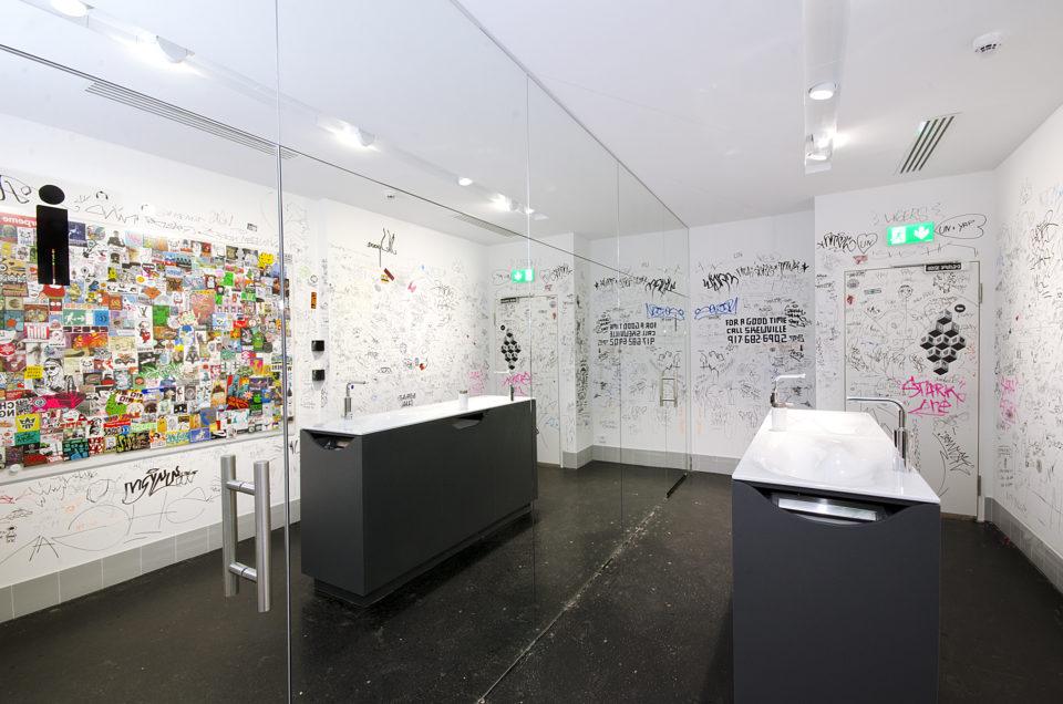 Urban Nation Museum Graffiti Toilette