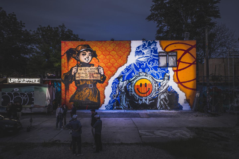 artwork by street art artist Senor Schnu Berlin