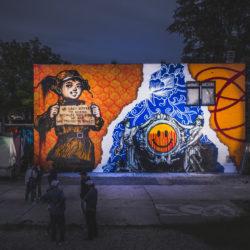 Kunstwerk Streetartist Senor Schnu Berlin