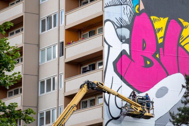 Urban Nation mural Berlin