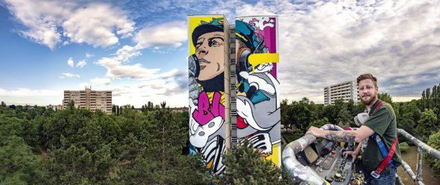 Bustart Mural Berlin