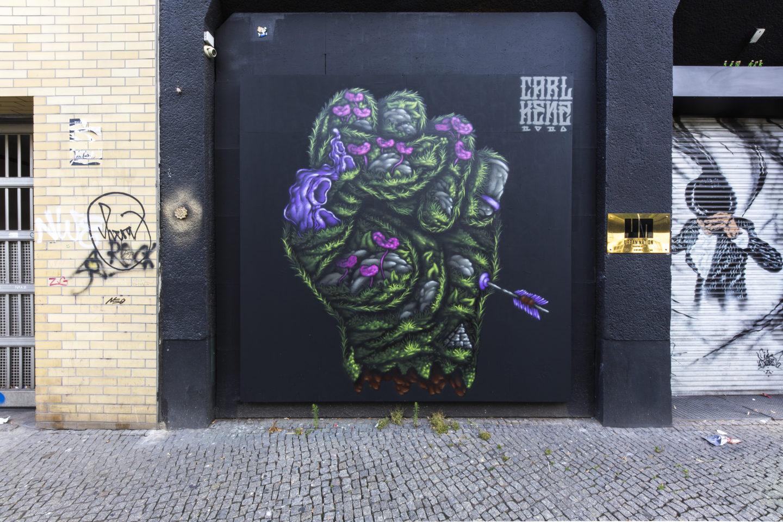 Carl KENZ Mural Berlin