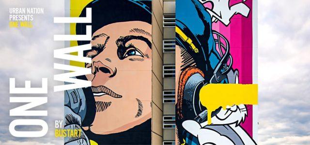 ONE WALL Mural von BUSTART Artpark Tegel