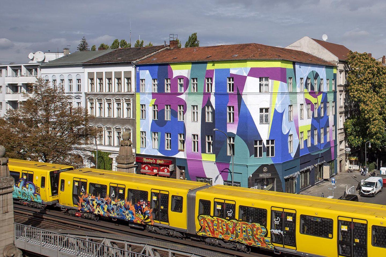 Roberto_Rivadeneira One Wall Mural Berlin