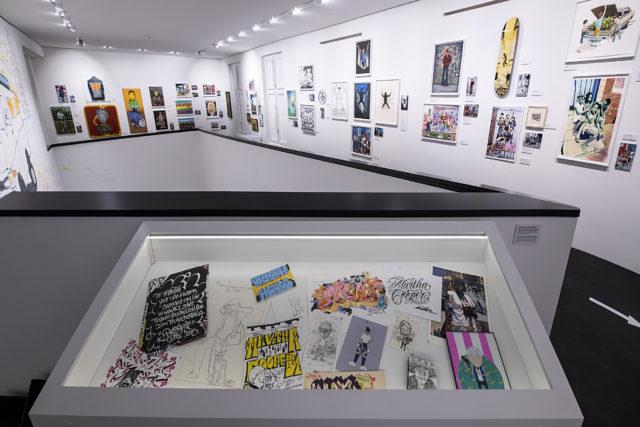 Vitrine Ausstellung Urban Nation Museum