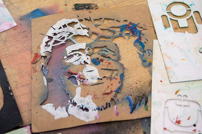 Stencil Workshop Urban Nation