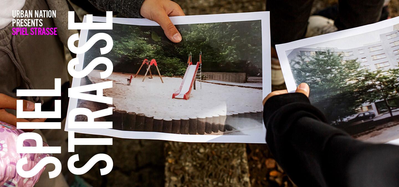 Outdoor Exhibition Spiel-Strasse URBAN NATION Project