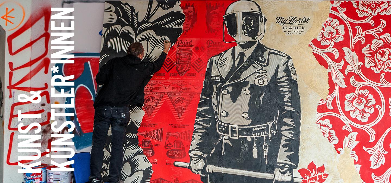 Kunst und Künstler*innen Urban Nation