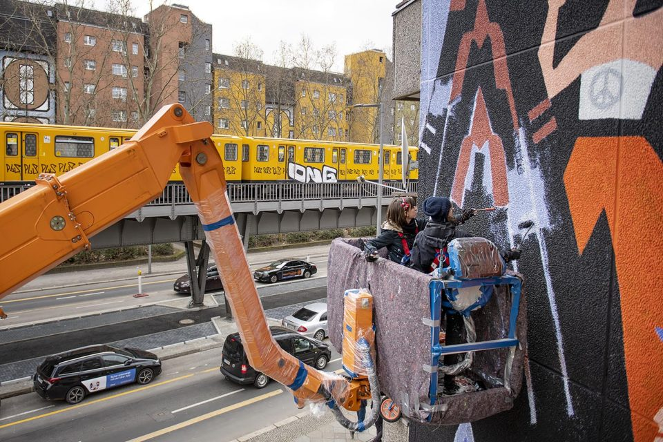 Brave Wall by Katerina Voronina, Berlin, Mural, Amnesty International, Urban Nation, One Wall, Street Art, Urban Art