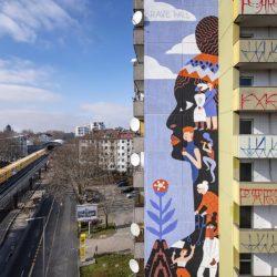Brave Wall Mural Katerina Voronina, Berlin