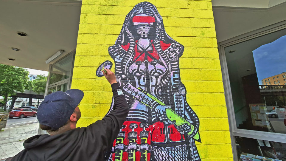 Community Wall von RON MILLER