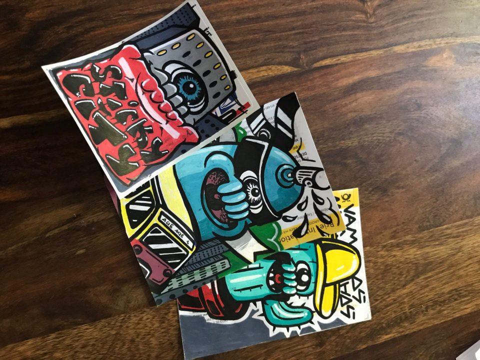 Sticky City Sticker Workshop